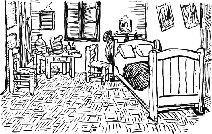 Poeme sur la chambre coucher de van gogh design de maison - La chambre a coucher de vincent van gogh ...