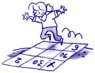 Exercice ent1 conna tre les tables de multiplication par for Connaitre ses tables de multiplication