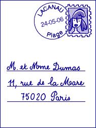 Lire une carte postale - illustration 8