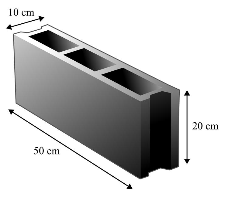 dimension dun parpaing. Black Bedroom Furniture Sets. Home Design Ideas