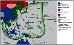 Les offensives japonaises, 1941-1942