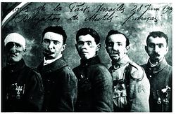 Carte postale : Congrès de la Paix, Versailles, 28 juin 1919