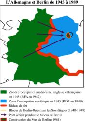 L'Allemagne et Berlin de 1945 à 1989