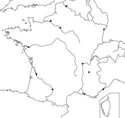 Les principales aires urbaines de la France métropolitaine