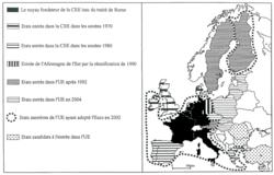 Les étapes de la construction européenne