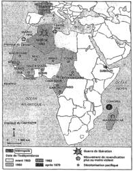 Les causes et les formes de la décolonisation en Afrique française - illustration 1