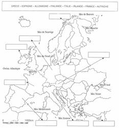Repères chronologiques 1947-2002 / Carte de l'Europe - illustration 1