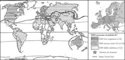L'IDH dans le monde en 2002