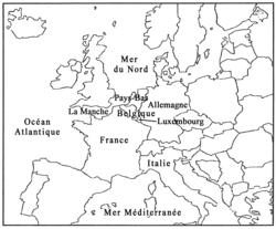 Trois pays fondateurs de l'Union européenne - illustration 2
