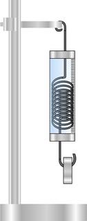 Dynamomètre et masselotte