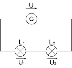 Exemple : comparaison de la luminosité des lampes dans deux cas de figure
