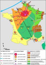 Les dynamiques de l'espace industriel français