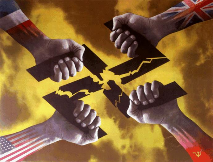 Les Alliés unis contre le nazisme