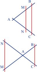 Appliquer le théorème de Thalès - illustration 1
