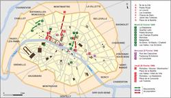 La révolution de 1848 à Paris