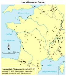 Les zones sismiques dans le monde et en France - illustration 4