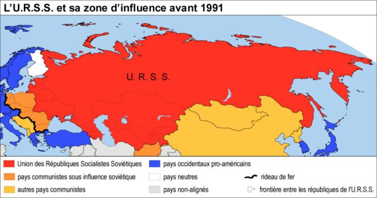 De l'URSS à la Russie : un empire éclaté   Réviser une notion