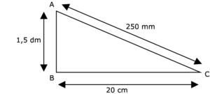 Calculer l'aire d'un triangle rectangle - illustration 2
