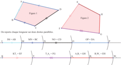 Comparer géométriquement les périmètres de deux figures - illustration 2