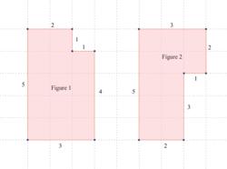 Comparer géométriquement les périmètres de deux figures - illustration 4