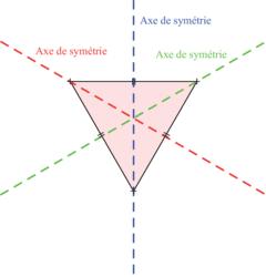 Reconnaître et construire un triangle équilatéral - illustration 3