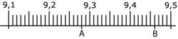 Placer un nombre décimal sur une droite graduée - illustration 11