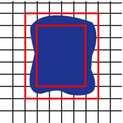 Déterminer une aire par pavage ou encadrement - illustration 3