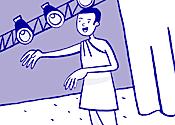 Lire un dialogue de théâtre - illustration 1