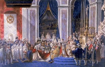 Le sacre de Napoléon Ier le 2 décembre 1804 - illustration 1