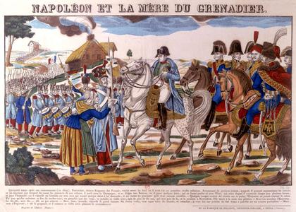 «Napoléon et la mère du Grenadier» - illustration 1