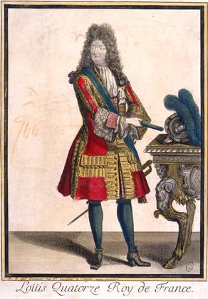 Louis XIV en habit rouge - illustration 1