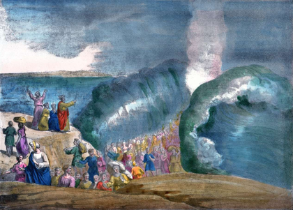 Moïse et le passage de la mer Rouge - illustration 1