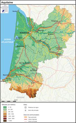 L'Aquitaine (fond de carte complété) - illustration 1