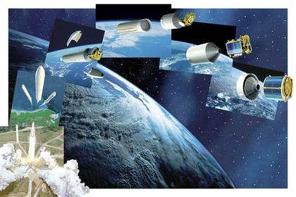 Phases principales d'une mise en orbite - illustration 1