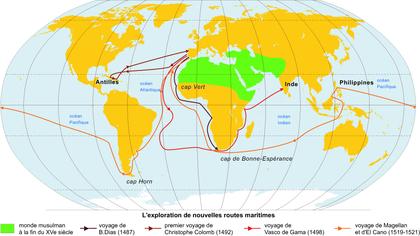 L'exploration de nouvelles routes maritimes - illustration 1