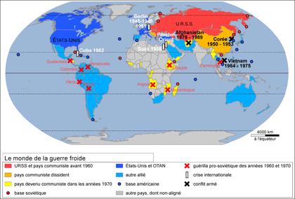 Le monde de la guerre froide - illustration 1