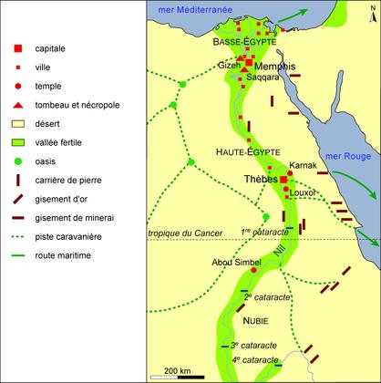 La vallée du Nil pendant l'Antiquité égyptienne - illustration 1