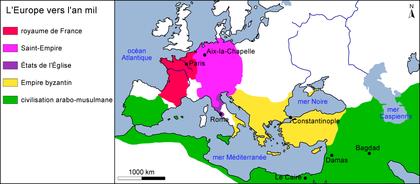 L'Europe vers l'an mil - illustration 1