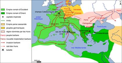 Les invasions barbares (IV-Ve siècles) - illustration 1