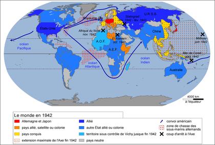 Le monde en 1942 - illustration 1