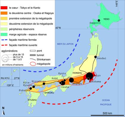 L'organisation de l'espace japonais - illustration 1