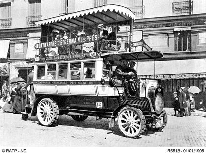 Un des premiers autobus parisiens - illustration 1