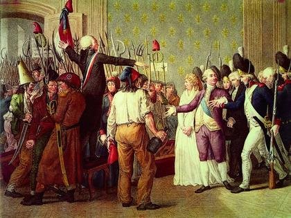 Le 20 juin 1792 aux Tuileries (gravure) - illustration 1