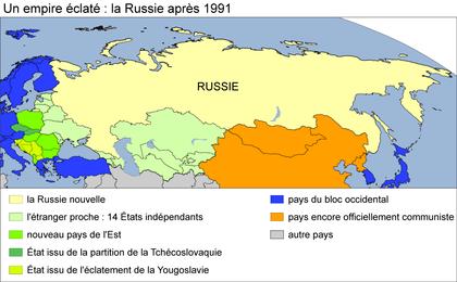 Un empire éclaté : la Russie après 1991 - illustration 1