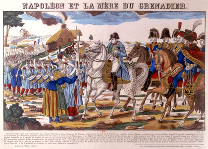 « Napoléon et la mère du Grenadier » - illustration 1