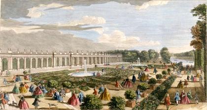 Le château de Trianon vu du côté des jardins - illustration 1