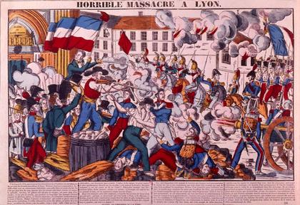 Répression de la révolte des canuts à Lyon en avril 1834 - illustration 1