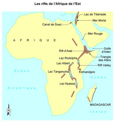 Le rift de l'Afrique de l'Est - illustration 1