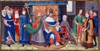 Sacre de l'empereur Charlemagne - illustration 1