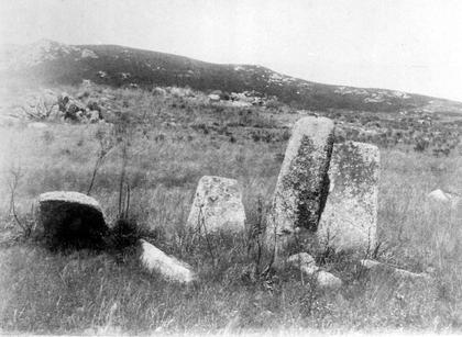 Groupe de menhirs dans la région de Sartène - illustration 1